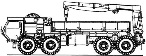 Oshkosh HEMTT M985 T3M MLRS