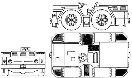 Russia -FRS Flight Deck Tractor