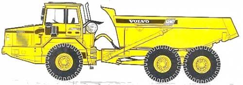Volvo A30C 27 ton Construction Dump Truck (1997)