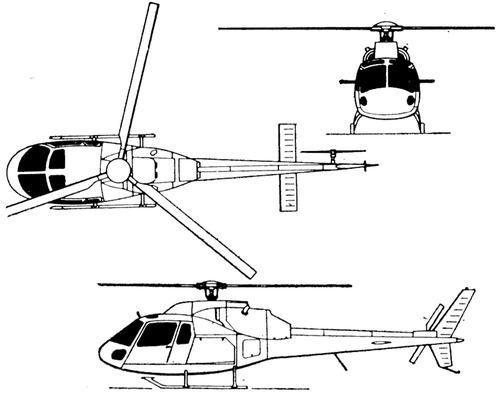 Aerospatial AS355W Ecureuil 2 TwinStar