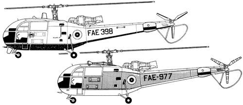 Aerospatiale Alouette III