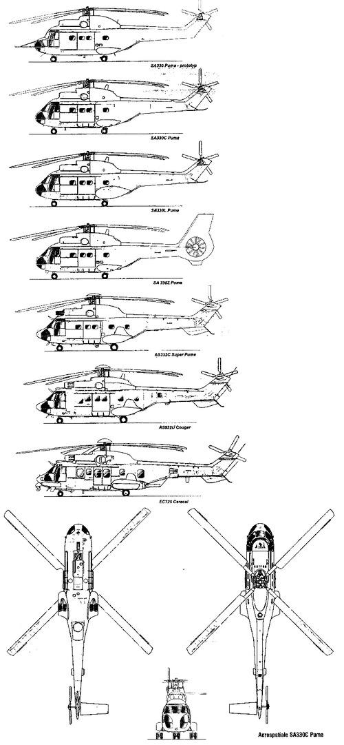 Aerospatiale AS 330 Puma