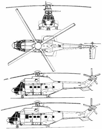 Aerospatiale AS 332 Super Puma