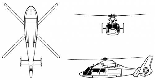 Aerospatiale Dauphin