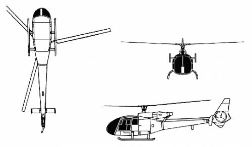 Aerospatiale Gazelle