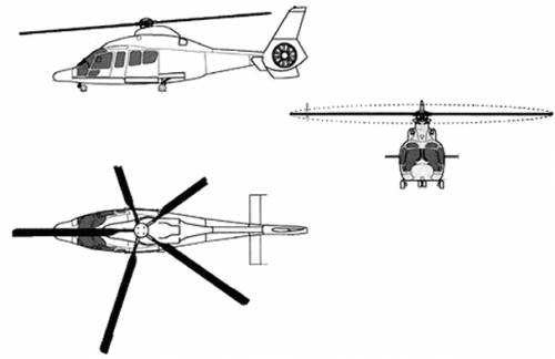 Aerospatiale HH-65A Dauphin