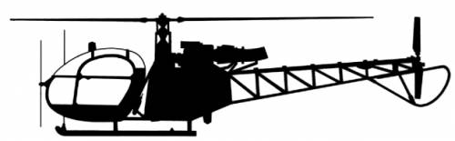 Aerospatiale SA313 Alouette II