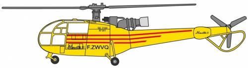Aerospatiale SA319 Alouette III