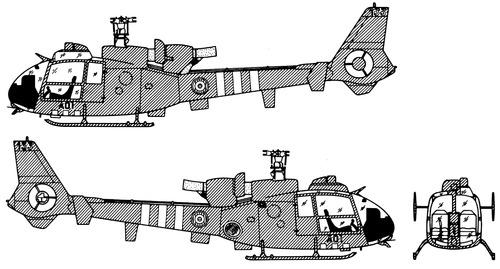 Aerospatiale SA324 Gazelle