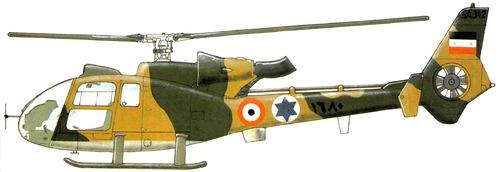 Aerospatiale SA324L Gazelle