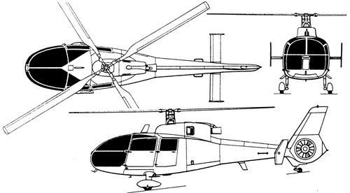 Aerospatiale SA360 Dauphin