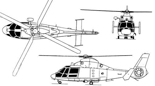 Aerospatiale SA366 G1 Dauphin II