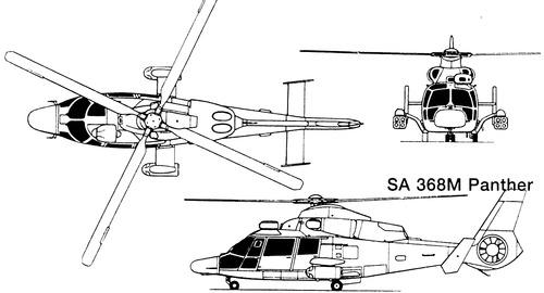 Aerospatiale SA368M Panther