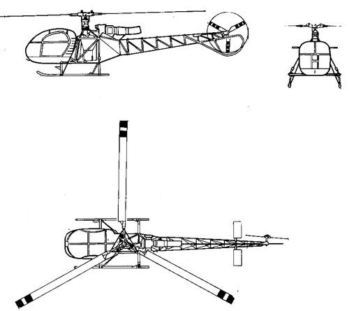 Aerospatiale SA 315B Lama