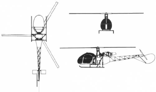 Aerospatiale SA 318 Alouette II