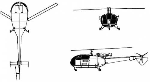 Aerospatiale SA 319 Alouette III