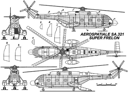 Aerospatiale SA.321 Super Frelon