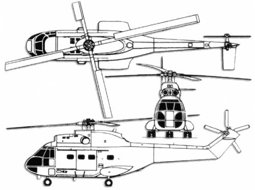 Aerospatiale SA 330L Puma