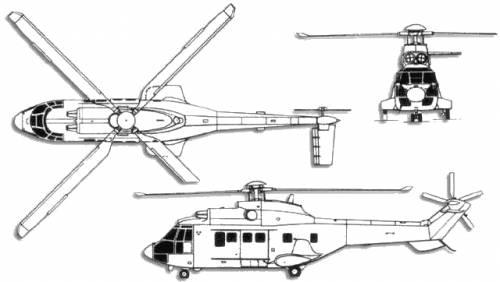 Aerospatiale SA 332 Super Puma
