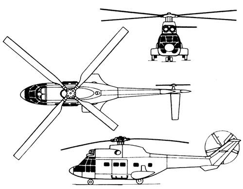 Aerospatiale SA.332 Super Puma