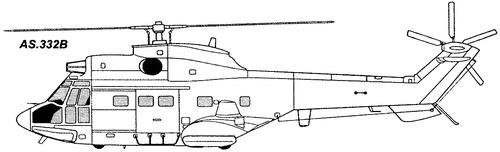 Aerospatiale SA.332B Super Puma