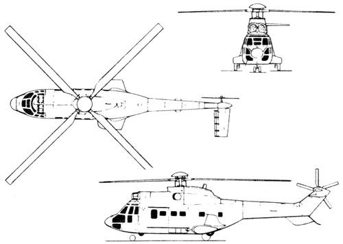 Aerospatiale SA 332L Super Puma