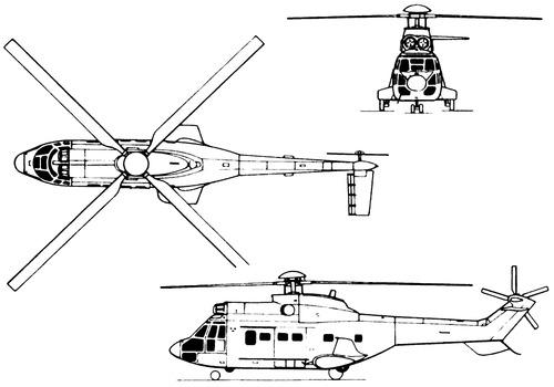 Aerospatiale SA.332L Super Puma