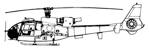 Aerospatiale SA.341 Gazelle