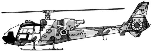 Aerospatiale SA.342L Gazelle