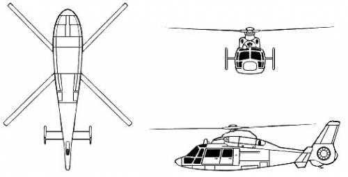 Aerospatiale SA 360 Dauphin