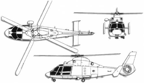 Aerospatiale SA 365 Dauphin