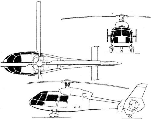 Aerospatiale SA.365N Dauphin II