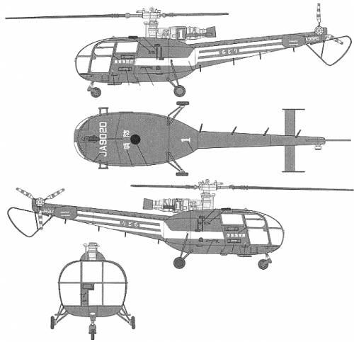Aerospatiale (Sud Aviation) SA316 Alouette III