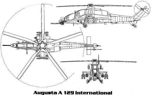 Agusta A129 Mangusta International