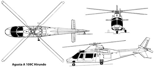 Agusta A.109 C Hirumdo