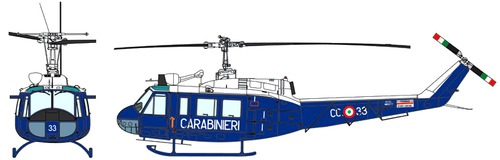 Agusta-Bell AB-205 UH-1 Huey