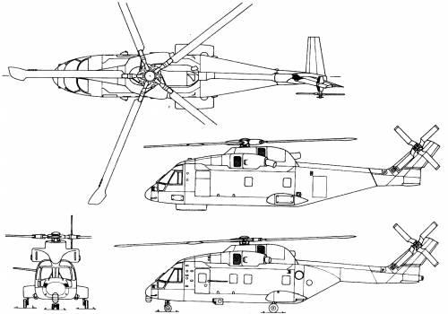 Agusta-Westland EH-101 Merlin HC Mk.III