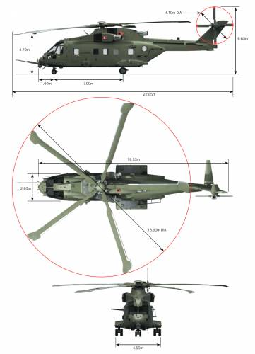 AgustaWestland AW101 Helicopter