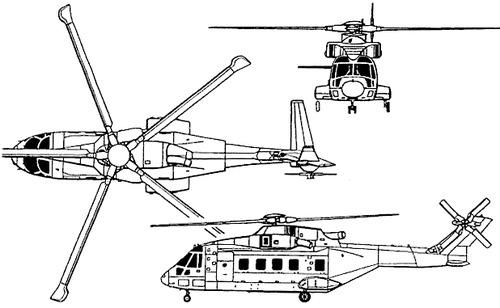 AgustaWestland AW101 Lockheed Martin VH-71 Kestrel
