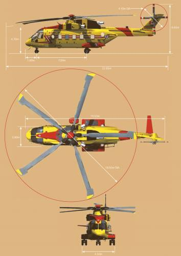 AgustaWestland AW101 Search And Rescue Helicopter