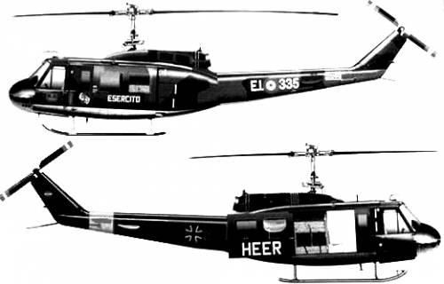 Augusta-Bell 205 UH-1D