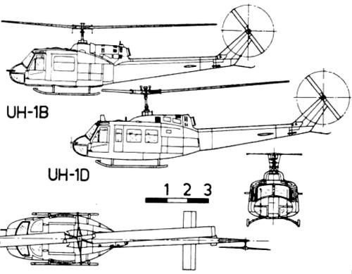 Bell 204-205 UH-1 Iroquois - Huey