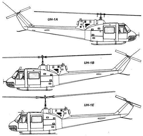 Bell 204 UH-1 Iroquois Huey