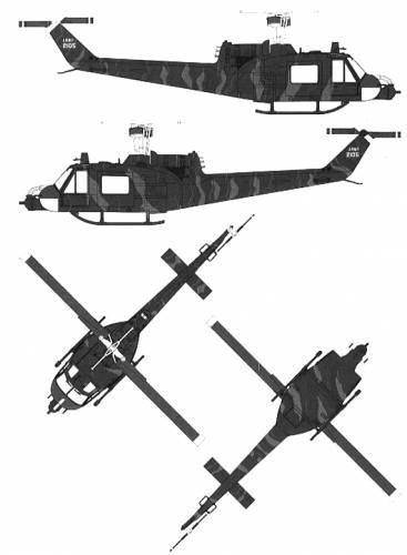 Bell 204 UH-1B Huey