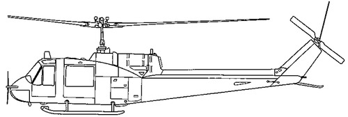 Bell 204 UH-1B Iroquois - Huey