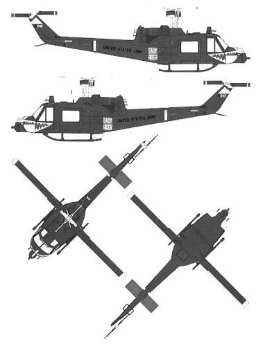 Bell 204 UH-1C Huey