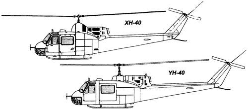 Bell 204 XH-40 Iroquois Huey