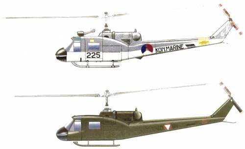 Bell 204B UH-1F Huey