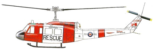 Bell 205 CUH-1H Huey