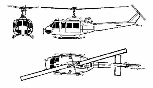 Bell 205 UH-1 Iroquois